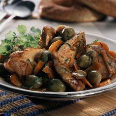 Découvrez la recette du tendron de veau aux olives