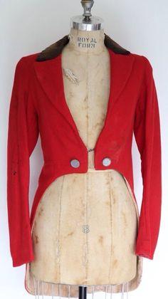Vintage Circus Lion Tamer's Tailcoat