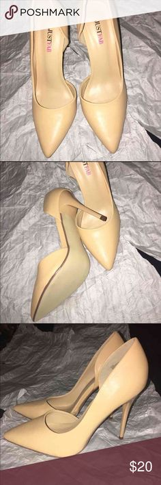 Just Fab Heels size 8 JustFab Pointy Heels size 8. Brand New. Feel free to ask any questions. :) JustFab Shoes Heels