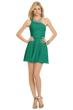 Green Tropics Dress