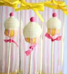 Pink Lemonade Cake Pop