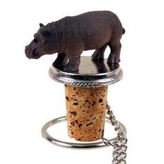 Hippo Bottle Stopper by Conversation Concepts. $11.59