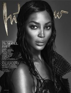 Naomi Campbell photographed by Mert Alas and Marcus Piggott for Interview's September 2013 cover.