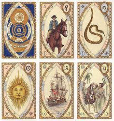 Astrological Lenormand Fortune Telling Cards