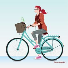 Bicycle Ride on Behance