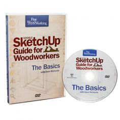 SketchUp Guide for Woodworkers DVD-ROM SketchUp Guide for Woodworkers DVD-ROM! This DVD will help your dad create the most detail workshop drawings! The post SketchUp Guide for Woodworkers DVD-ROM appeared first on Woodworking Diy. Woodworking Courses, Woodworking School, Rockler Woodworking, Woodworking For Kids, Woodworking Guide, Cool Woodworking Projects, Woodworking Supplies, Popular Woodworking, Wood Projects