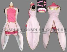 Sakura Cosplay (Pink 119-C01) from Cardcaptor Sakura - Tailor-Made Cosplay Costume
