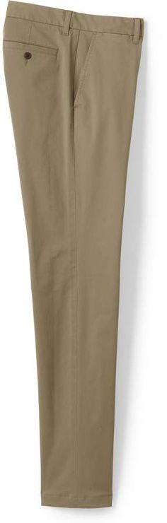 Try our Men's Slim Fit Comfort-First Knockabout Chino Pants at Lands' End. Tall Pants, Khaki Pants, One Coin, Mens Big And Tall, Slim Man, Lands End, Fitness, Cotton, Shopping