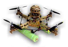 RC Quadcopters - Gaui 500X, Blade mQX, Parrot AR Drone, Aerial Photography, FPV