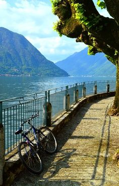 Sala Comacina ~ Lake Como, Italy | Flickr - Photo by Ken Quantick