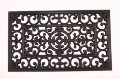 Kempf Rubber Scroll Doormat Rectangular