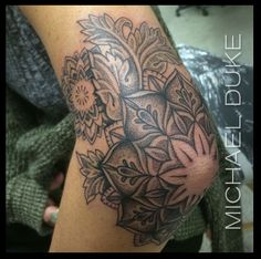 Michael Duke: Fine Tattoo Work Stippled mandala