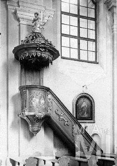 Szószék, 1760 k., Eger- Felnémet, R. k. plébániatemplom