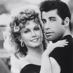 Olivia Newton-John & John Travolta (Grease) one of my all time  favorite movies