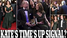 BAFTAs 2018: Pregnant Kate Middleton defies Time's Up