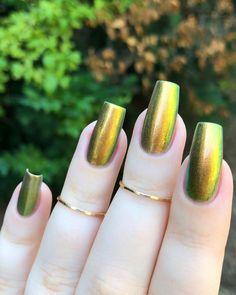 Nail Paint Shades, Silver Nail Art, Golden Nails, Colorful Nail Art, Rainbow Nails, Mani Pedi, Nail Inspo, Pretty Nails, Nail Colors