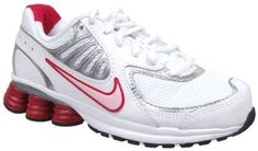 Nike Youth Girls Shox Qualify Running Shoes White « Shoe Adds for your Closet