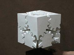 歯車の立方体
