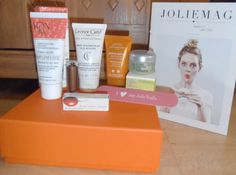 YaY! This Month is Jolieboxes 1st Birthday..& the product names in the Box are...  ELYSAMBRE.....Lip stick   INSTITUT ESTHEDERM...Bronze Body Lotion.  L'OCCITANE....Angelica Hydration Cream.  LEONOR GREYL... Volumizing Shampoo with Algae Extracts.  YON-KA...Pamplemousse Protective & Vitalizing Cream...  & the all important I <3 Jolie Nails File!  :o)  Love this Months Xx  When posting to facebook you can choose to hide the review picture so people dont see & you dont blab Xx Institut Esthederm, Beauty Box Subscriptions, O Love, Nail File, Subscription Boxes, Own Home, Body Lotion, Shampoo, Bronze