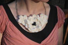 Craftaholics Anonymous® | zig zag gathered fabric flowers TUTORIAL