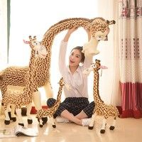 Giraffe Toy Plush Toys Cute Madagascar Giraffes Toy for Children Doll Baby Toy Brinquedos Birthday G