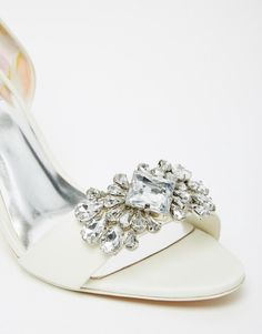 Ted Baker Phinium Tie The Knot Bridal Embellished Heeled Sandals #WedWithTed @tedbaker
