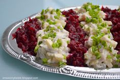 Components: herring fillets 3 beets 1 onion 3 medium potatoes 1 apple canned cucumb Keto Recipes, Cooking Recipes, Beet Salad, Polish Recipes, Keto Meal Plan, Fish And Seafood, Beets, Potato Salad, Meal Planning