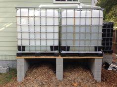 Rain harvest with compost bins underneath