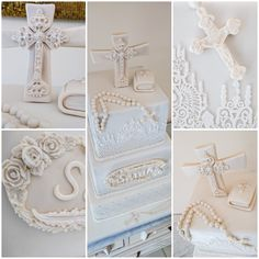 First Communion cake made for the lovely Sarah  #firstcommunioncake         #firstcommunion      #1stcommunion     #cake        #christeningcake         #christening         #premierecommunion       #1erecommunion      #fondant        #sugarpaste         #caketier        #mudchocolatecake        #ganache        #white        #offwhite        #gateauxoflove      #cakedecoration    #cakedecorating   #cakedesign