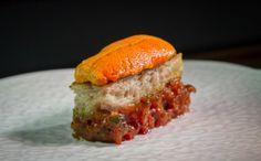 Saison: Sea urchin toast -- just one spectacular dish on the multi-course menu.