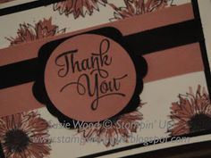 Stamp with Susie: Stampin' Up!- 'Touches of Texture'!