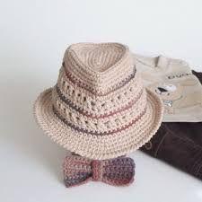 fedora hat crochet pattern free ile ilgili görsel sonucu