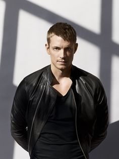 Joel Kinnaman In a black leather jacket :) Joel Kinneman, Swedish Men, Leather Men, Leather Jacket, Black Leather, Altered Carbon, Hommes Sexy, Attractive Men, Hot Guys