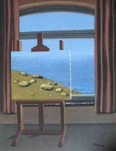 La condition humaine - René Magritte 1934 Belgian 1898-1967