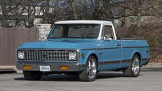 1972 Chevrolet Pickup 350 CI, Short Bed presented as lot at Indianapolis, IN 2016 - 72 Chevy Truck, Chevy C10, Chevrolet Trucks, Classic Chevrolet, Classic Chevy Trucks, Classic Cars, 4x4, Gm Trucks, Chevy Pickups
