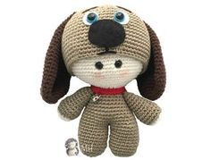 Muñeco yoyo perrito amigurumi