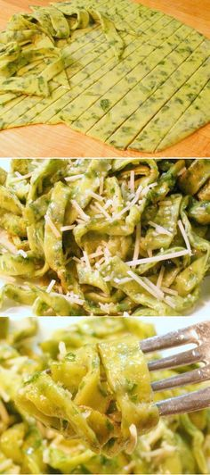 If I every decide to make pasta, this recipe seems simple and delicious- Fresh Herb Pasta Recipe