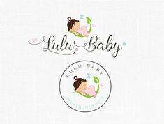 Premade Baby Logo Design Boutique Logo Children Logo Baby Girl Logo Photography Logo