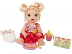 Baby Alive Hora de Comer com Acessórios - Hasbro