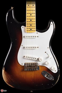 New 2014 Fender Custom Shop 60th Anniversary 1954 Heavy Relic Stratocaster Limited in stock! The Fender Custom Shop celebrates the diamond jubilee of the world's greatest electric guitar with the 6...