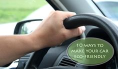 Go easier on the environment by incorporating these green tips to make your transportation eco-friendly.