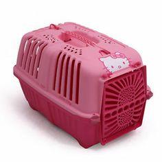 Hello Kitty Portable Folding Plastic Pet Dog Cat Travel Light Carrier / EBAY ID, STORE - iamtov