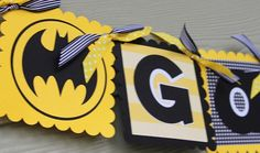 Batman Birthday Banners