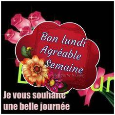 Hapy Day, Good Night, Bonjour, Happy Monday