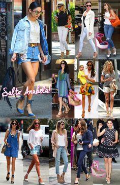 Verão 2017 de salto anabella! - Fashionismo