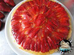 A Prendre Sans Faim: fraises http://www.aprendresansfaim.com/2014/07/tarte-aux-fraises.html