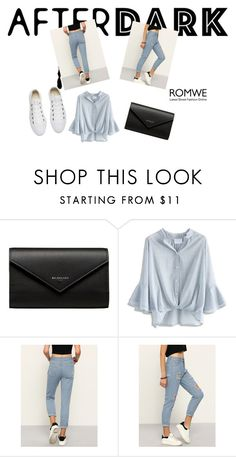 """After dark"" by rejhannnaaa ❤ liked on Polyvore featuring Balenciaga, Chicwish and Converse"