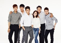 """I Remember You"": Jang Nara Is Just One Of The Guys In Group Stills 