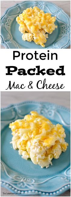 Not your ordinary Macaroni and cheese, this baked Mac & Cheese is a protein-packed mac and cheese. Kids & adults will gobble it up feeling full & energized.