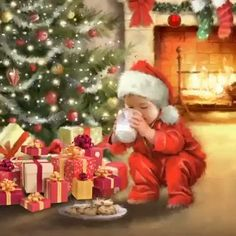 Christmas Scenery, Merry Christmas Images, Beautiful Christmas Decorations, Snoopy Christmas, Christmas Art, Christmas Greetings, Christmas Holidays, Happy Xmas Images, Animated Christmas Pictures